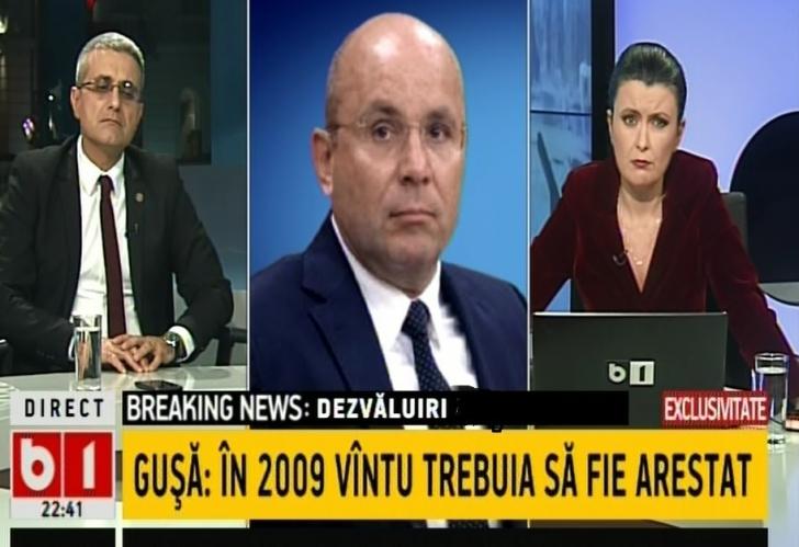 Cozmin Gușă, dezvăluiri