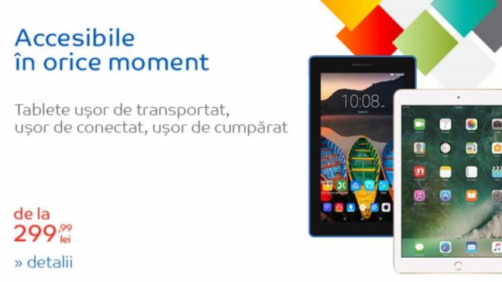 eMAG – 5 tablete Samsung si iPad la preturi excelente – Ce reduceri sunt in aceasta perioada