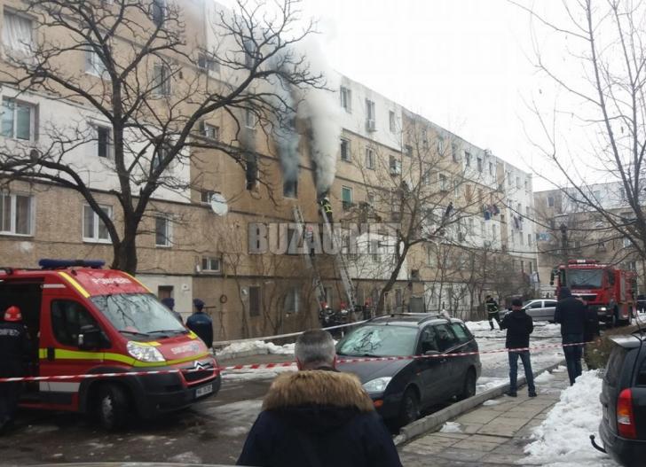 UPDATE: Victima exploziei dintr-un bloc din Buzău, transferată la Bucureşti (VIDEO)