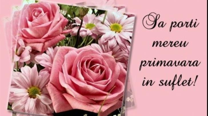 Imagini frumoase cu flori de 8 Martie