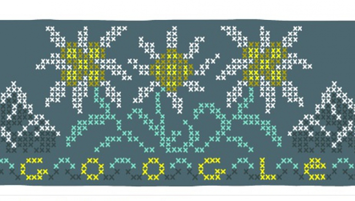 Floarea-de-colţ. Google are un Doodle special