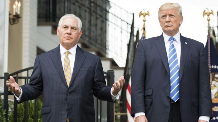 Trump l-a demis pe șeful diplomației SUA Rex Tillerson fără să-l anunțe. Va fi înlocuit de șeful CIA