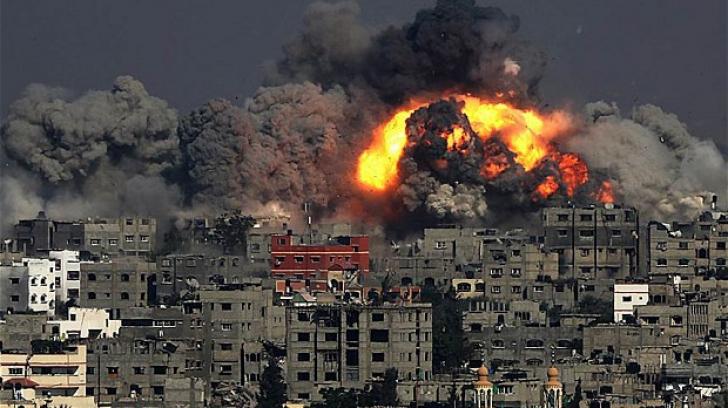 Israelul atacă poziţii ale Hamas în Gaza