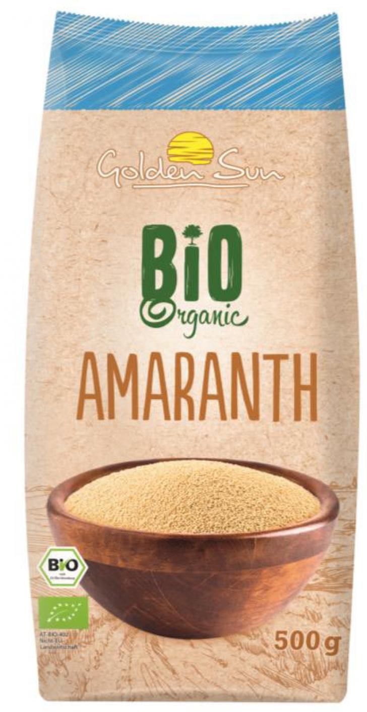 Golden Sun Bio Organic Cereale Amaranth cereale cu salmonella la LIDL