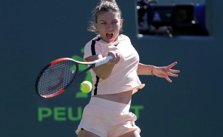 Final de drum la Miami Open: Simona Halep, eliminată de Agnieszka Radwańska cu 1-2