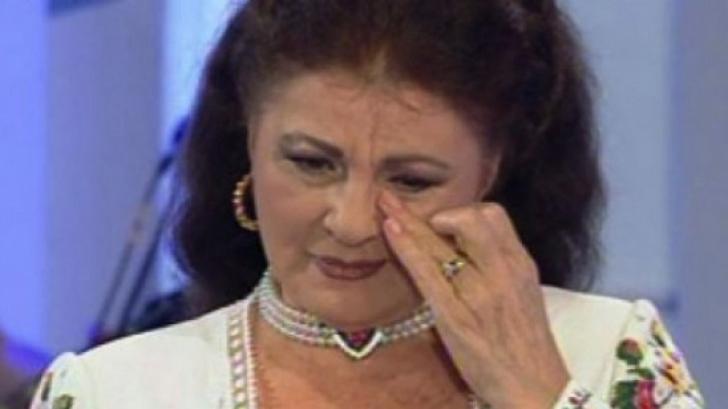 Irina Loghin, criză de nervi în direct la TV. S-a ridicat şi a plecat. Motivul?