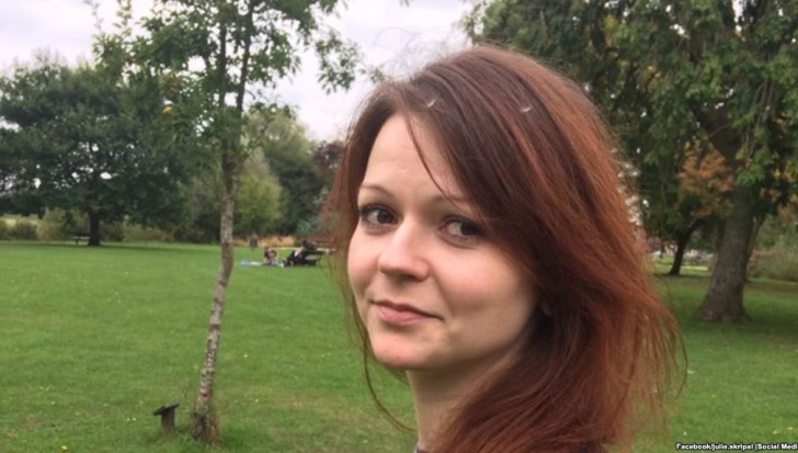 Fiica lui Serghei Skripal nu mai este în stare critică. Ce spun medicii