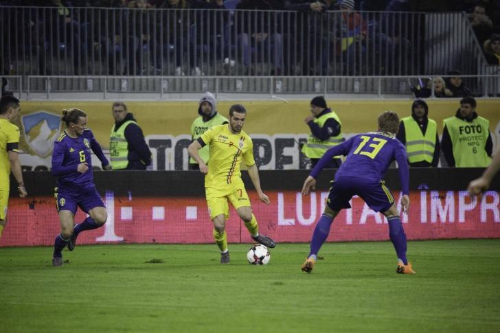 România marchează victoria, după 35 de ani, în fața Suediei! A fost un meci pe cinste