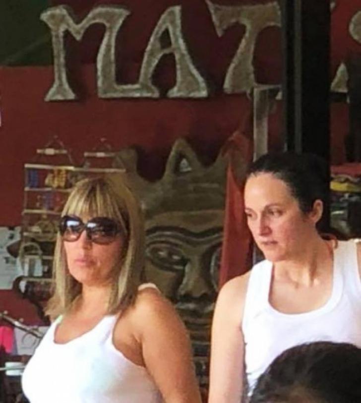 Elena Udrea şi Alina Bica