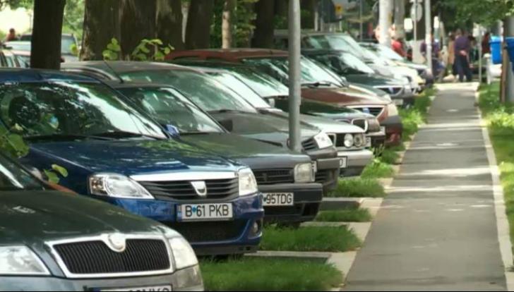 Parcarea în Bucuresti, mai scumpa