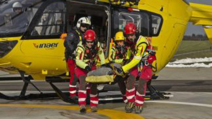 Un muncitor român s-a prăbușit de la 10 metri înălțime. Iată în ce stare se află acesta