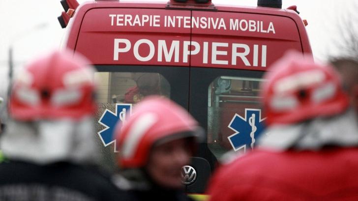 Incendiu la Palatul Justiţiei din Timişoara: mai multe persoane au fost evacuate