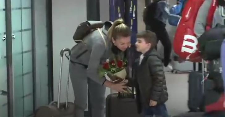 Simona Halep. Cine a aşteptat-o pe Simona Halep la aeroport. Numărului 1 WTA nu i-a venit să creadă