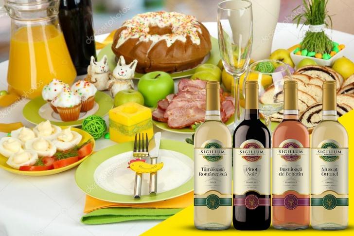 4 vinuri pentru masa de Paște (P)