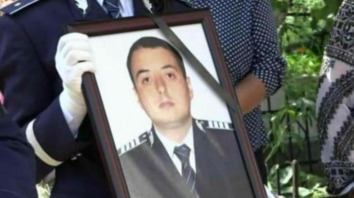 """Poliţistul ucis pe peronul gării din Suceava, declarat """"Poliţistul Anului 2017"""" de către Carmen Dan"""