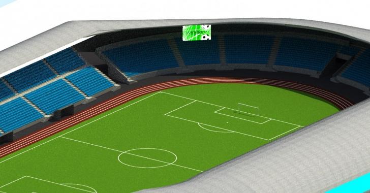 Un nou stadion în România. Va costa 17 milioane de euro