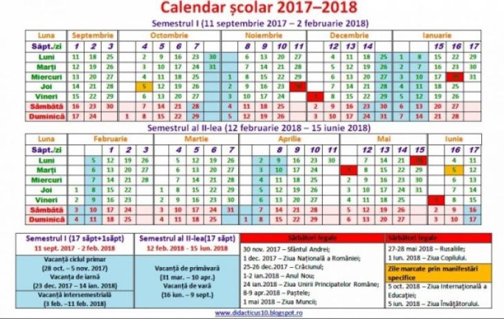 Când începe VACANŢA DE PAŞTE 2018?