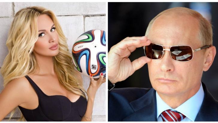 Bombă-sexy! Ea e noua iubită a lui Putin. Nu e de mirare că au ales-o ambasadoarea Cupei Mondiale