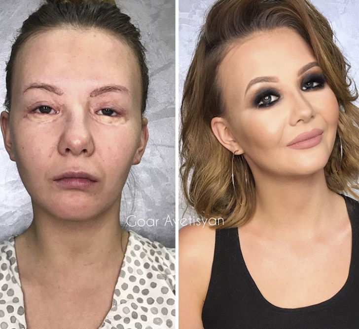 Transformări spectaculoase marcaGoar Avetisyan