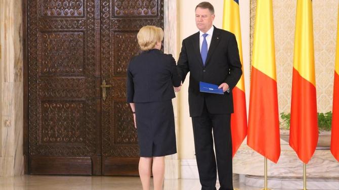 Klaus Iohannis şi Viorica Dăncilă