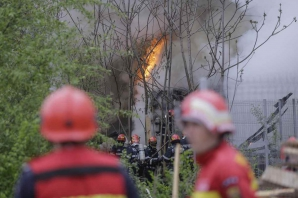Incendiu Piata Muncii