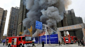 Incediu cumplit în China