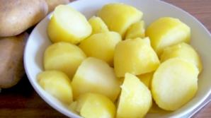 Cum poţi slăbi cu cartofi fierţi şi copţi