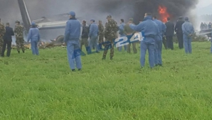Avion prăbușit în Algeria
