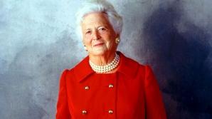 Barbara Bush, fostă primă doamnă a Americii, a murit