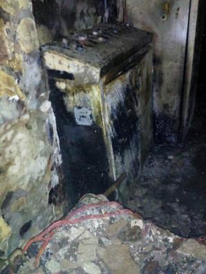 Incendiu puternic în noaptea de Înviere - o fabrică de ulei a ars