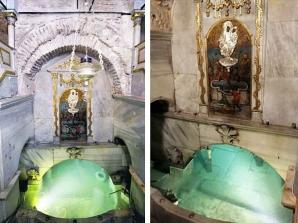 Izvorul Tămăduirii. Tradiţii şi obiceiuri în Vinerea Luminată. Cum să te fereşti de rele. Apa sfântă - Biserica Izvorul Tămăduirii, Constantinopol