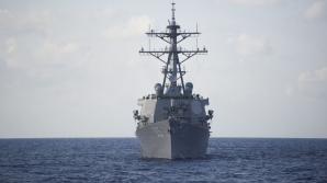 Distrugătorul american USS Thomas Cook