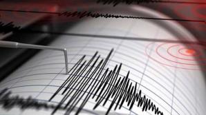 Cutremur, marţi după masă, în Vrancea