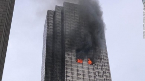 Incendiu la Trump Tower