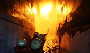 Incendiu de proporţii în Indonezia