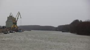 Restricţii de trafic pe Dunăre, din cauza unei posibile mine din al II-lea Război Mondial
