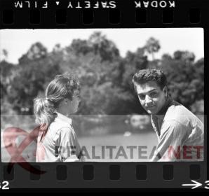 Elvis Presley - imagine rara, scanata de pe negativul original. Arhiva: Cristian Otopeanu