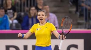 Fed Cup 2018. Simona Halep. Declaraţia liderului mondial, după victorie / Foto: Inquam Photos / Manases Sandor