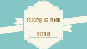 Felicitări de Florii 2018