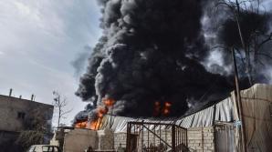 Trei jurnalişti ruşi, răniți într-un atac cu obuze în Siria