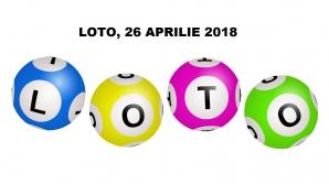 LOTO, 26 aprilie 2018. Numerele extrase la LOTO