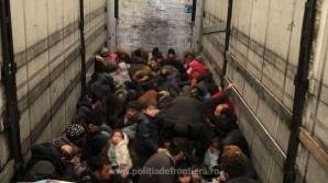 79 de migranţi ilegali descoperiţi la frontiera Ungariei cu România