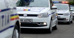 Incident în zona unui complex comercial din Capitală: partidă de drifting, oprită cu focuri de armă