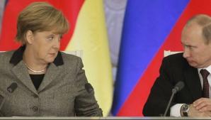 Putin şi Angela Merkel, discuţii despre Siria. Ce decizie au luat