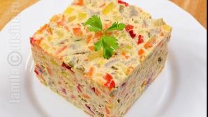 Cum să faci cea mai delicioasă salată de boeuf. Secretul perfecţiunii gustului este dezvăluit