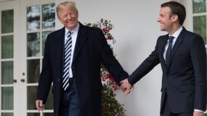 Emmanuel Macron și Donald Trump