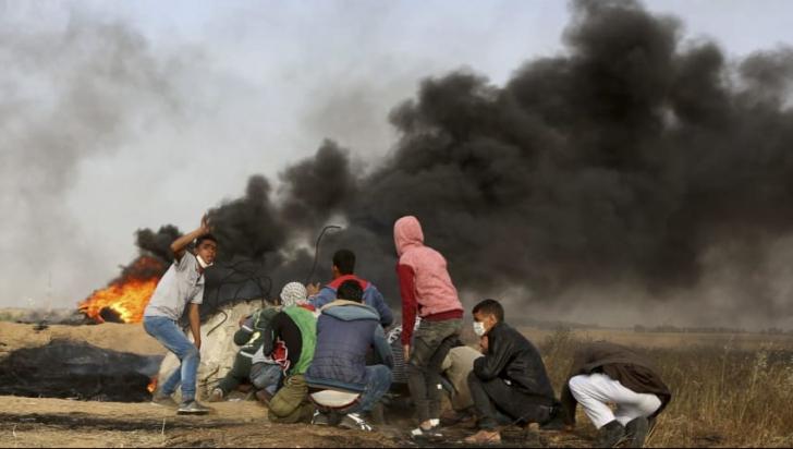 Noi proteste în Fâșia Gaza