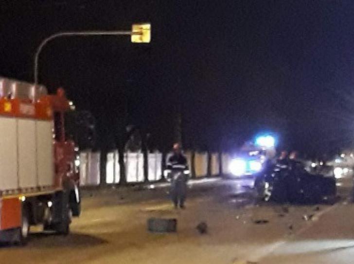 Spulberați de un șofer fără permis! Accident grav în Pitești (VIDEO)