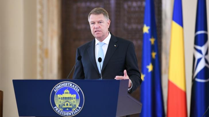 Iohannis: O amenințare la adresa securității europene vine dinspre est