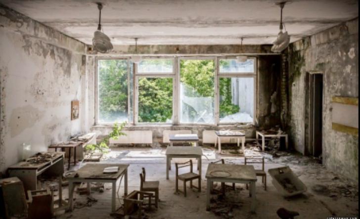 Cum arată Cenobîlul după 32 de ani de la cel mai mare dezastru nuclear(Galerie foto)